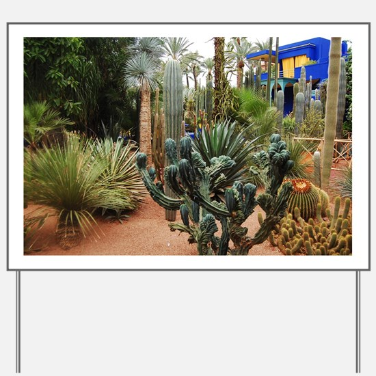 Cactii garden Yard Sign