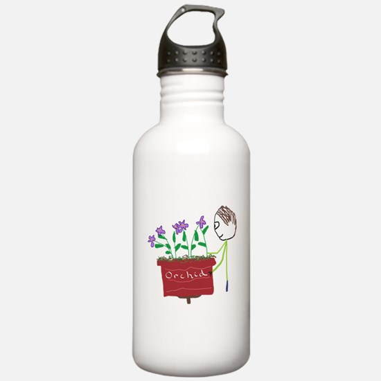 Orchid Growing Water Bottle