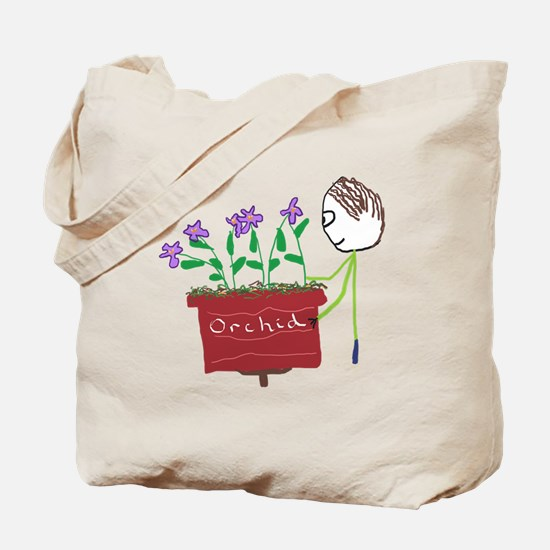 Orchid Growing Tote Bag