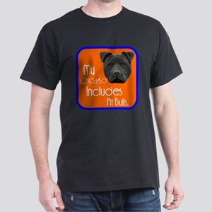 My Chicago Includes Pit Bulls Dark T-Shirt