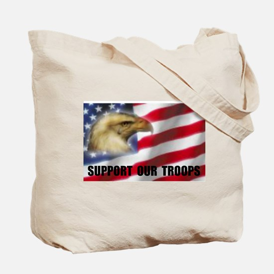 FREE AND BRAVE Tote Bag