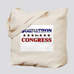 JOHNATHON for congress Tote Bag