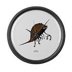 Horseshoe Crab Large Wall Clock