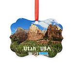 Utah Picture Ornament