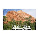 Utah Mini Poster Print