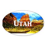 Utah Sticker (Oval 10 pk)