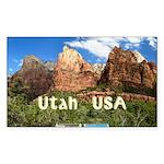 Utah Sticker (Rectangle 10 pk)