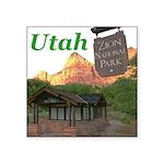 "Utah Square Sticker 3"" x 3"""