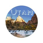 "Utah 3.5"" Button (100 pack)"