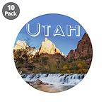 "Utah 3.5"" Button (10 pack)"