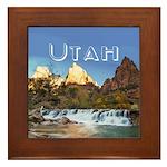 Utah Framed Tile