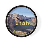 Utah Wall Clock