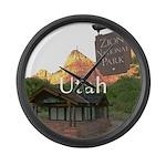 Utah Large Wall Clock