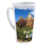 Utah 17 oz Latte Mug