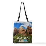 Utah Polyester Tote Bag