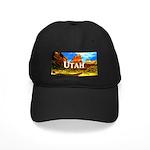 Utah Black Cap with Patch