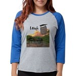 Utah Womens Baseball Tee