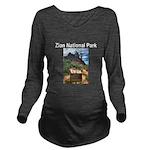 Utah Long Sleeve Maternity T-Shirt