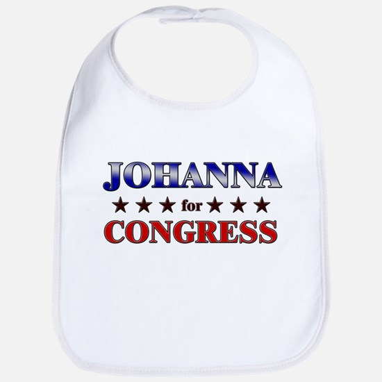 JOHANNA for congress Bib