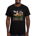 Utah Men's Fitted T-Shirt (dark)