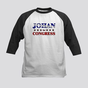 JOHAN for congress Kids Baseball Jersey