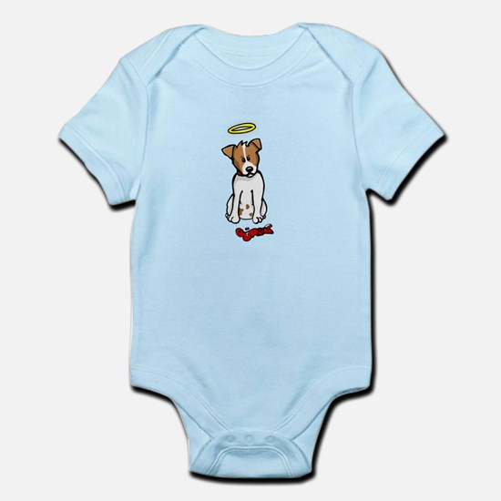 Jack Russell - Angel - Infant Bodysuit