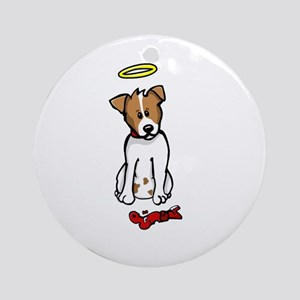 Jack Russell - Angel - Ornament (Round)