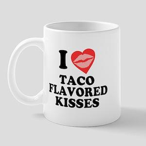 Taco Flavored Kisses Mug
