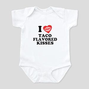 Taco Flavored Kisses Infant Creeper