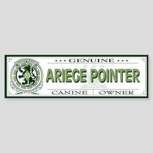 ARIEGE POINTER Bumper Sticker