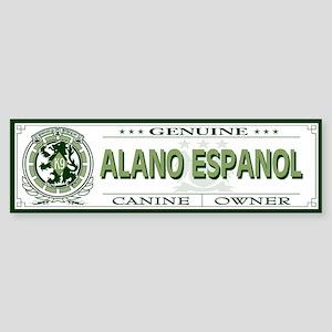 ALANO ESPANOL Bumper Sticker