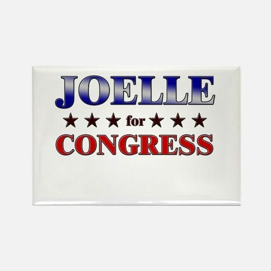 JOELLE for congress Rectangle Magnet