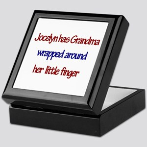 Jocelyn - Grandma Wrapped Aro Keepsake Box