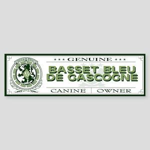 BASSET BLEU DE GASCOGNE Bumper Sticker