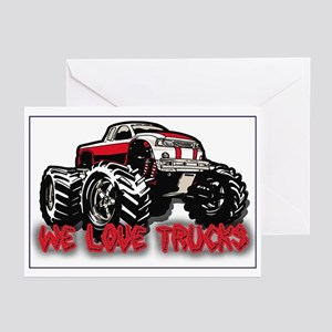 We Love Trucks Greeting Cards (Pk of 10)