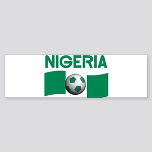 TEAM NIGERIA Bumper Sticker