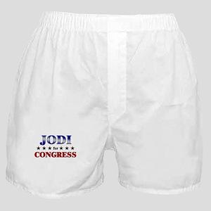 JODI for congress Boxer Shorts