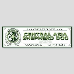CENTRAL ASIA SHEPHERD DOG Bumper Sticker