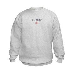 E=MChi Squared Sweatshirt