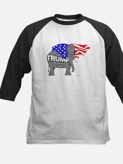 Trump Elephant Baseball Jersey
