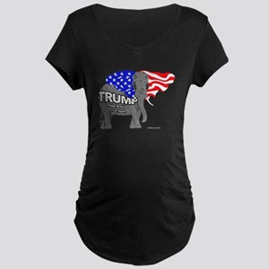 Trump Elephant Maternity T-Shirt