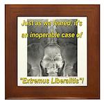 Extremus Liberalitis Framed Tile