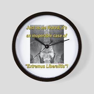 Extremus Liberalitis Wall Clock