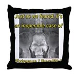 Extremus Liberalitis Throw Pillow
