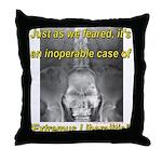 Extremus Liberalitis Throw Pillow