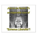 Extremus Liberalitis Small Poster