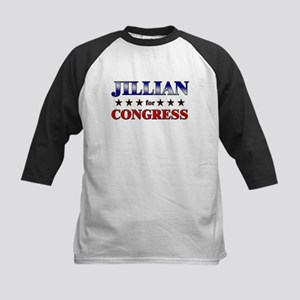 JILLIAN for congress Kids Baseball Jersey