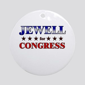 JEWELL for congress Ornament (Round)