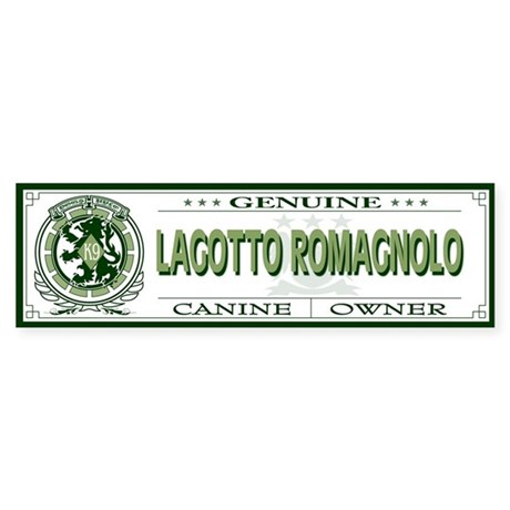 LAGOTTO ROMAGNOLO Bumper Sticker