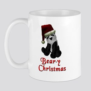 Bear-y Christmas Panda Mug